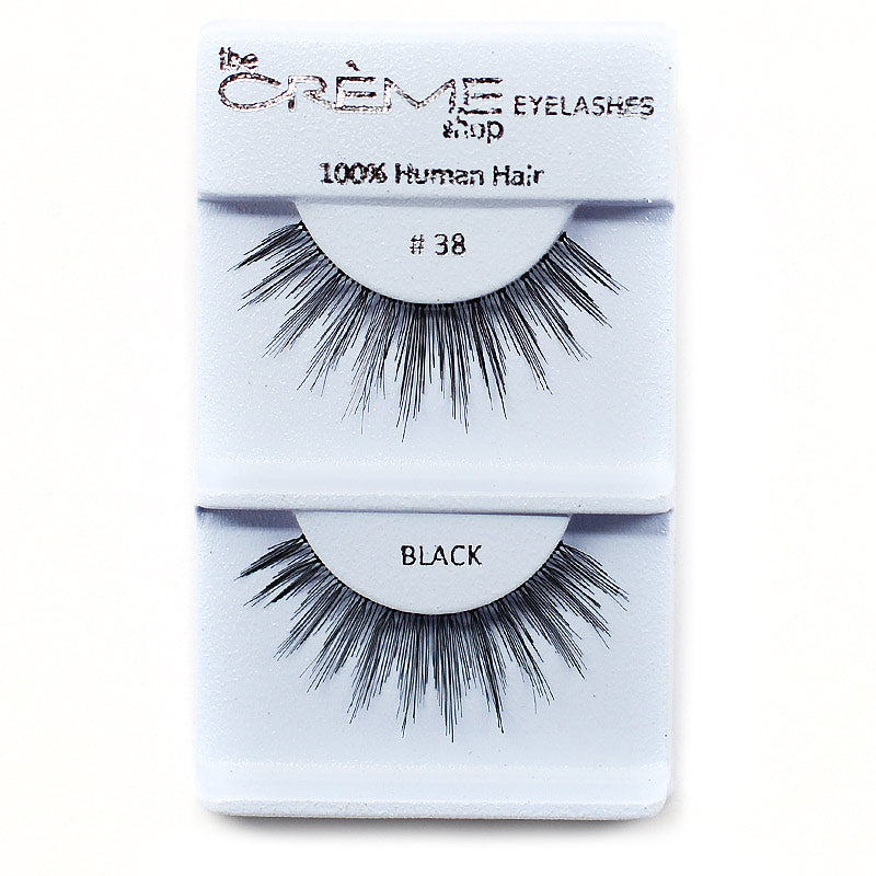 The Creme Shop Eyelashes - #38 Black