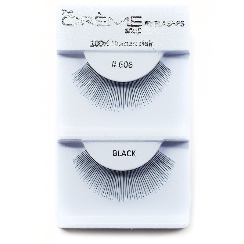 The Creme Shop Eyelashes - #606 Black