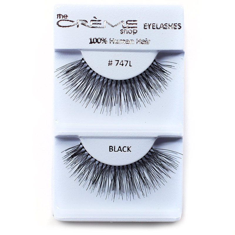 The Creme Shop Eyelashes - #747L Black