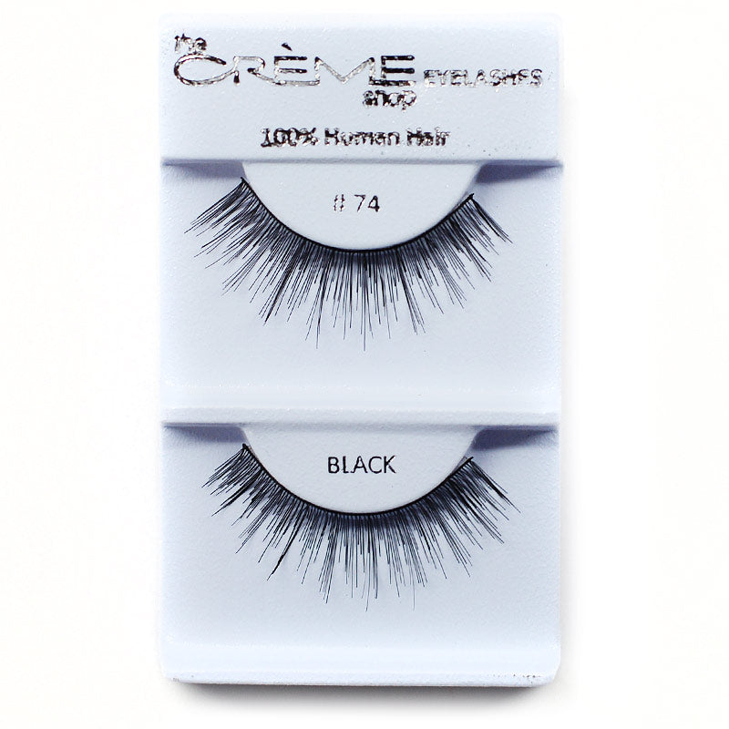 The Creme Shop Eyelashes - #74 Black
