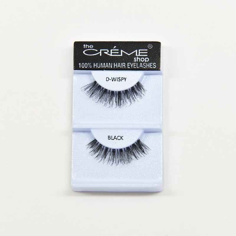 The Creme Shop Eyelashes - D WISPY Black