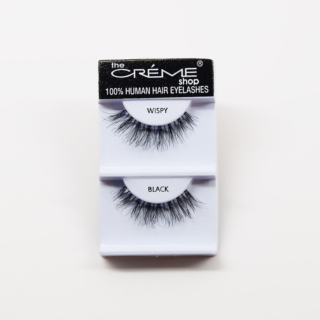 The Creme Shop Eyelashes - WISPY Black