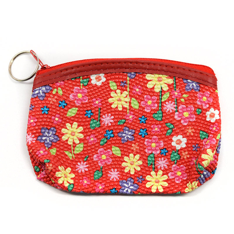 Mini Pouch / Coin Purse Daisy Design