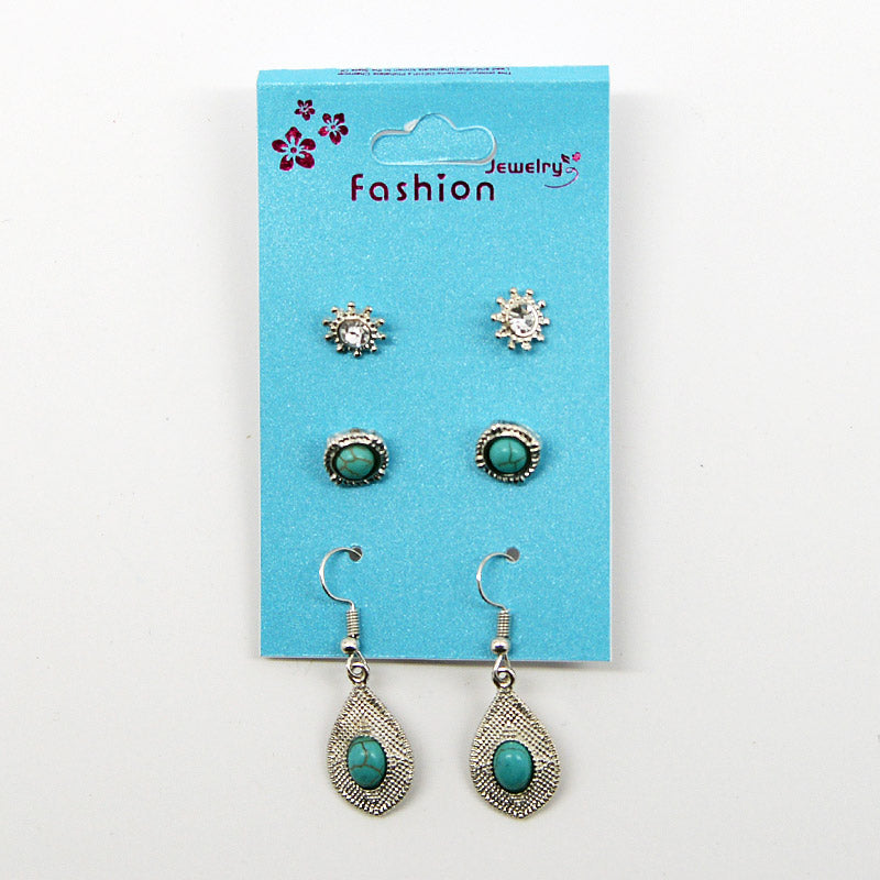 3-Pair Earring Set (#2515)