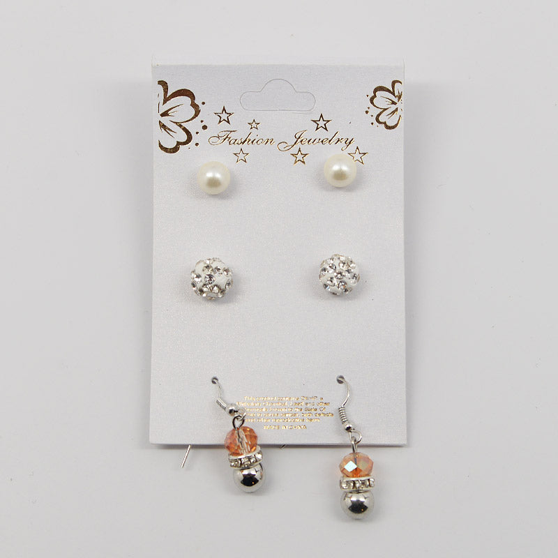 3-Pair Earring Set (#2520)