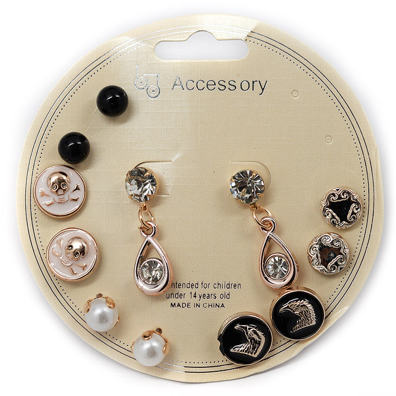 6-Pair Earring Set (#2530)