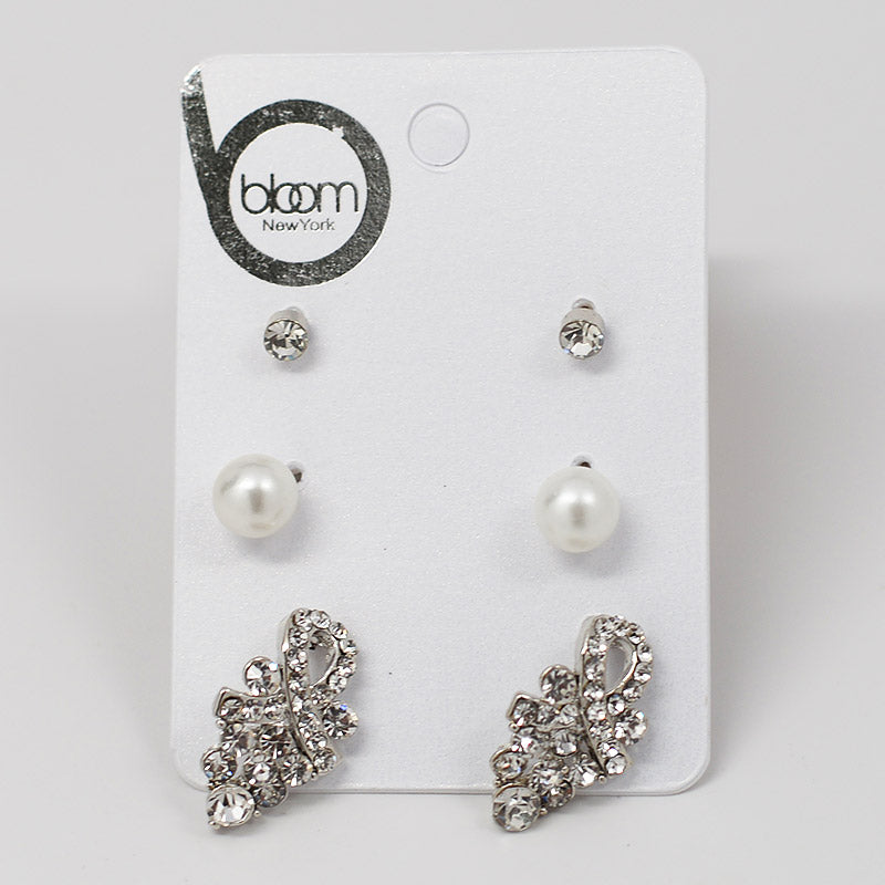 3-Pair Earring Set (#2541)