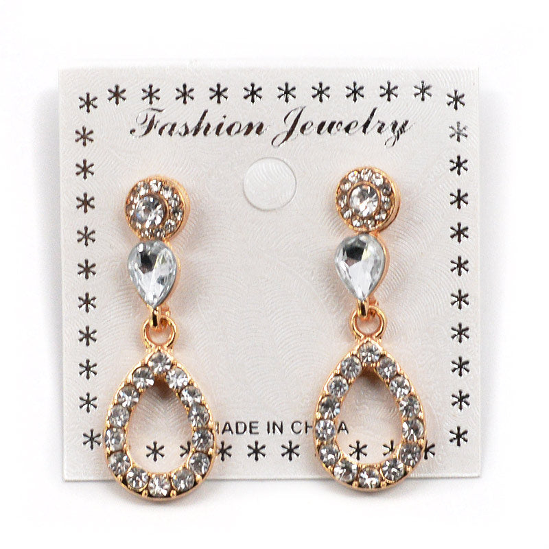 Rhinestone Earrings (#2552)