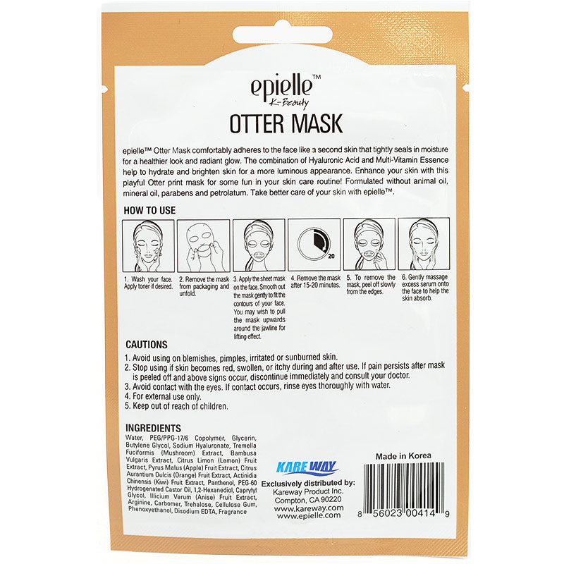 Epielle Hydrating & Brightening Otter Mask