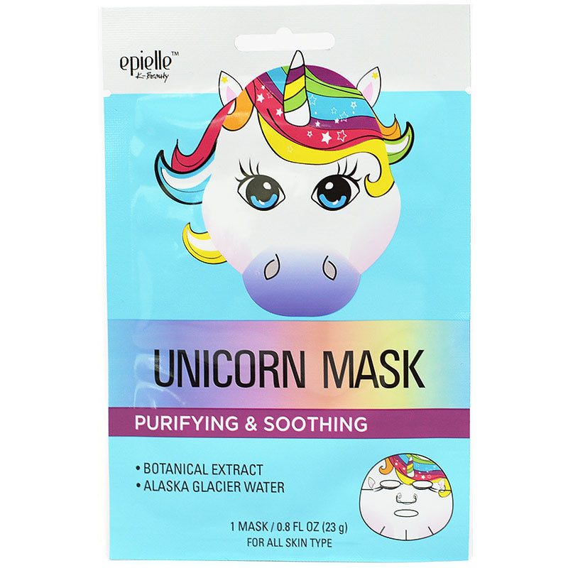 Epielle Purifying & Soothing Unicorn Mask