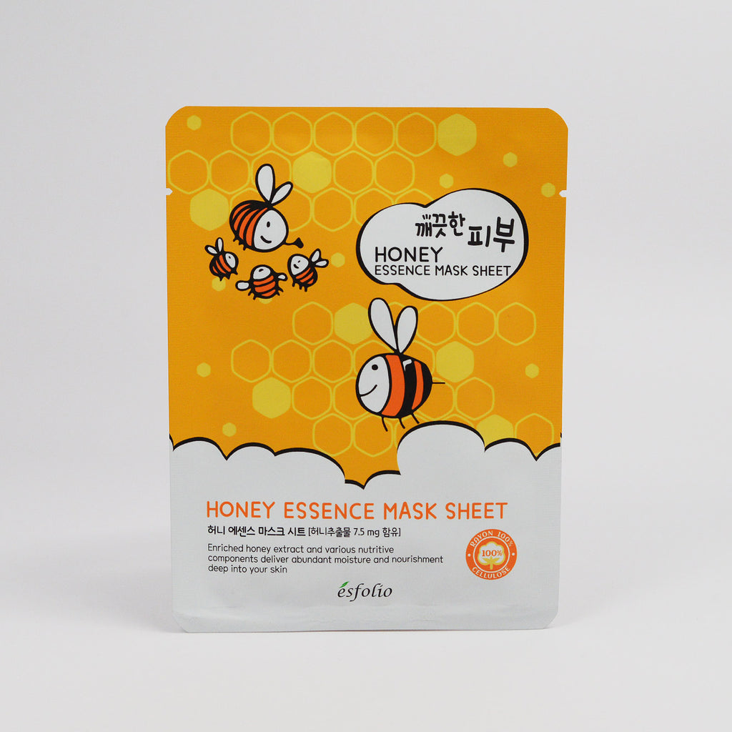Esfolio Honey Essence Mask Sheet