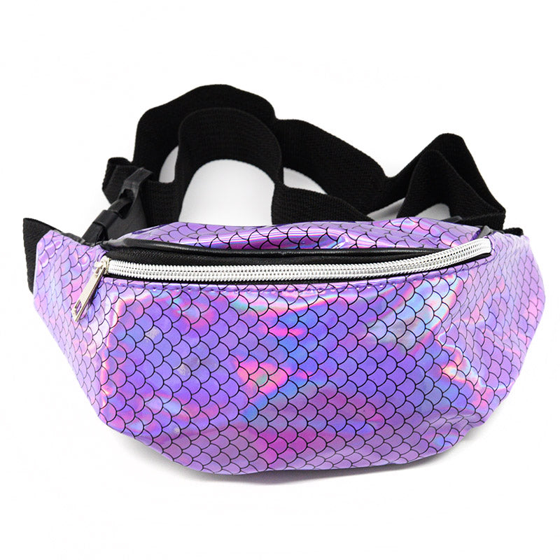 Fanny Pack Holographic Mermaid