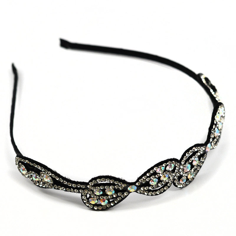 Rhinestone Headband Bow Design