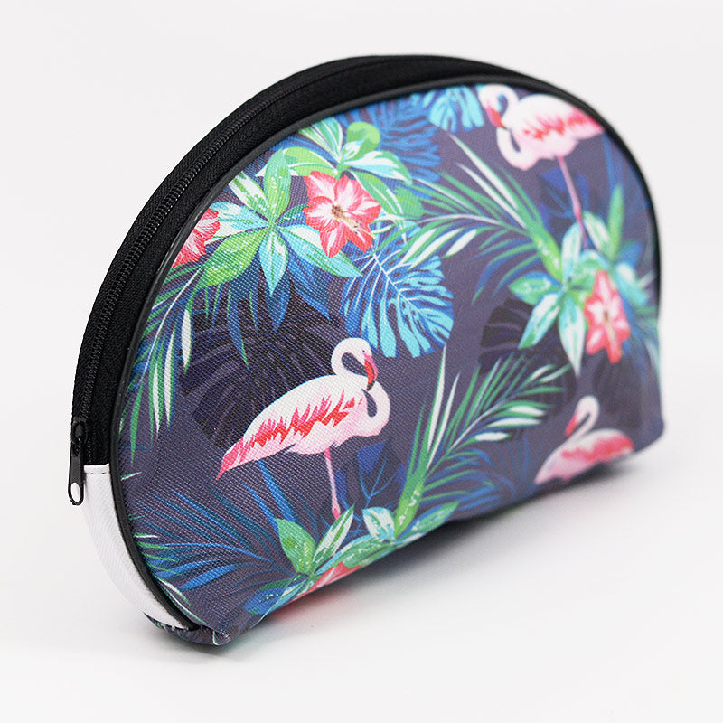 Cosmetic Pouch Bag Flamingo Design