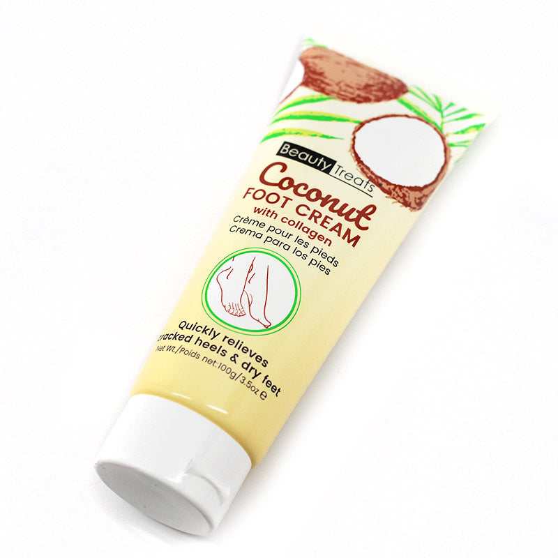 Beauty Treats Coconut Foot Cream