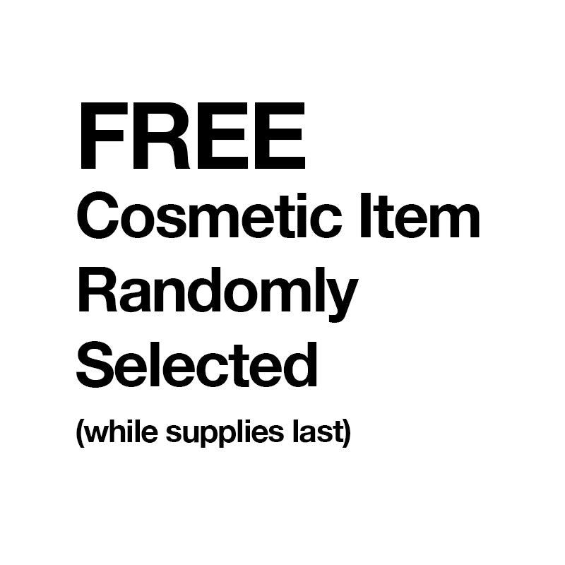 FREE COSMETIC ITEM with Order of $20 or More