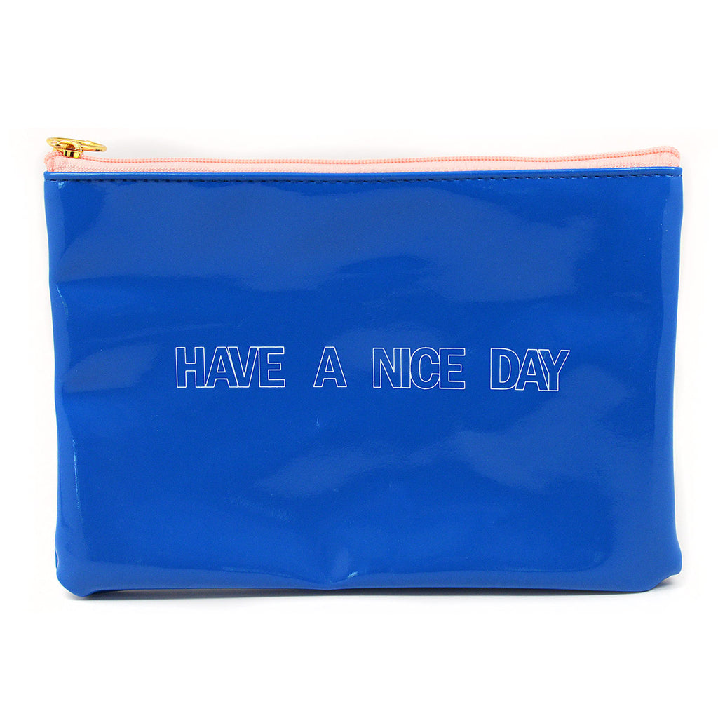 Have A Nice Day Cosmetic Bag Pouch
