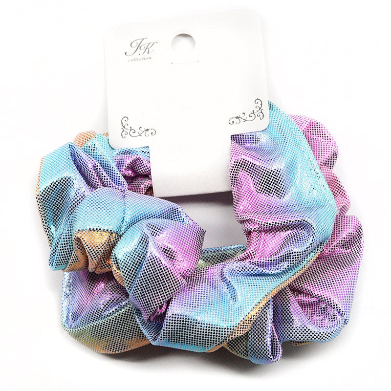 Small Iridescent Scrunchie Hair Ties