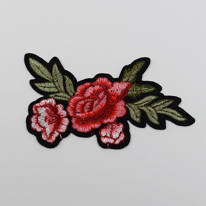 Iron On Embroidered Patches