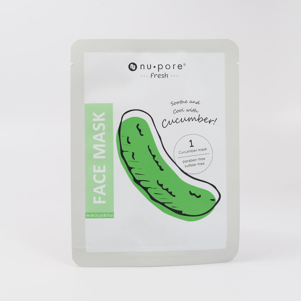 nu pore -fresh- Cucumber Face Mask