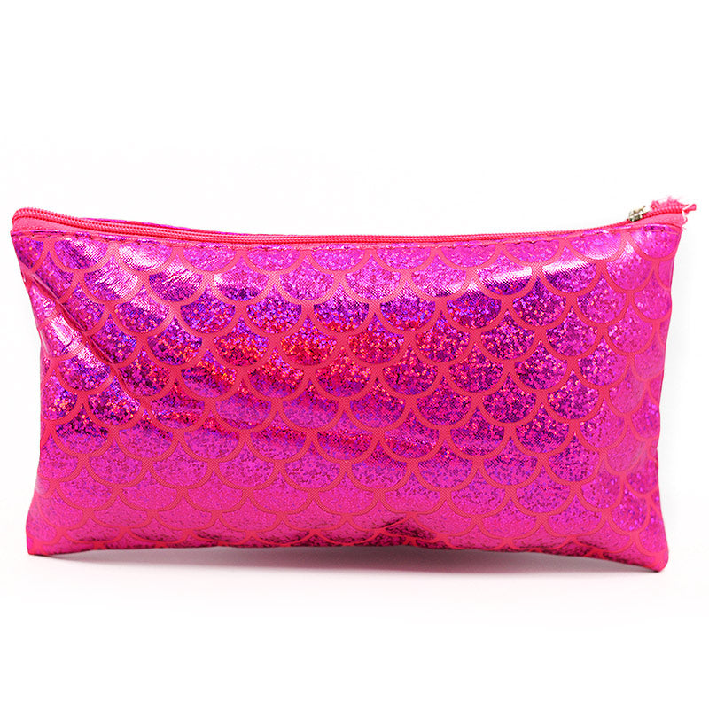 Mermaid Pattern Holographic Cosmetic Bag Pouch