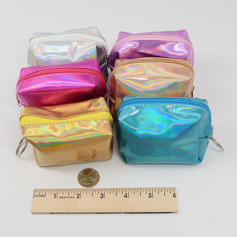 Mini Holographic Coin Pouch