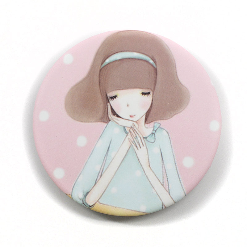 Anime Design Compact Mirror