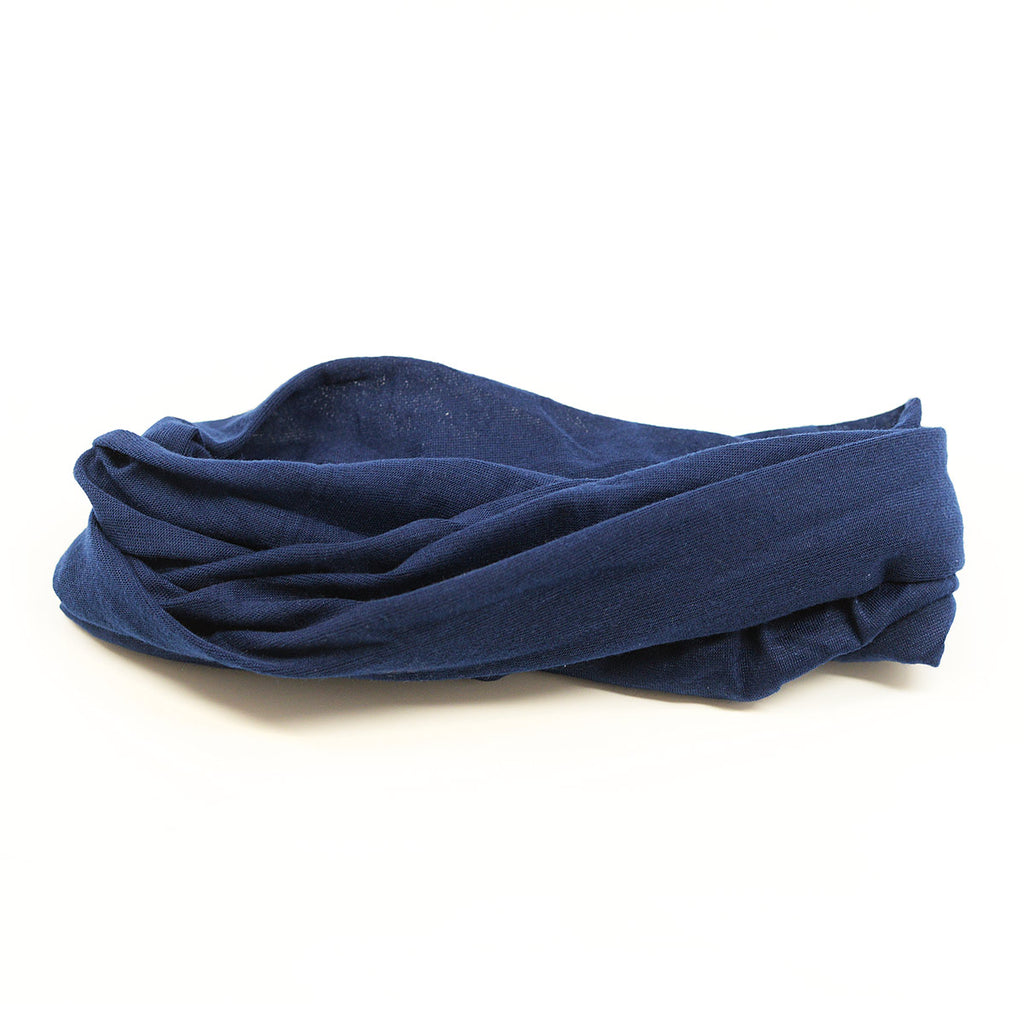 Tube Scarf Multifunctional Head Wear - Navy Color