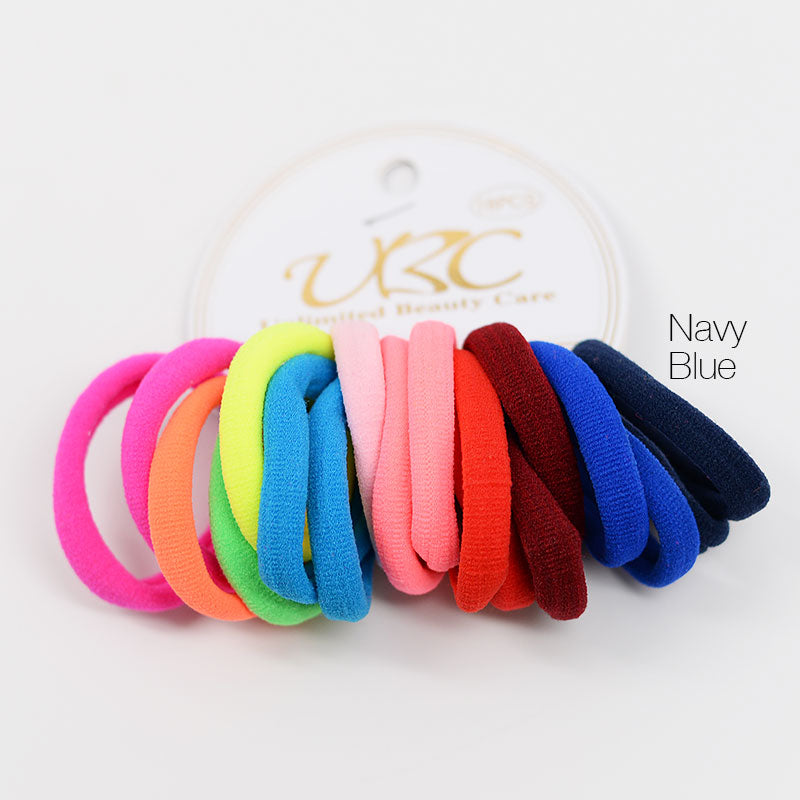 Neon Cotton Hair Ties (18 Pcs)