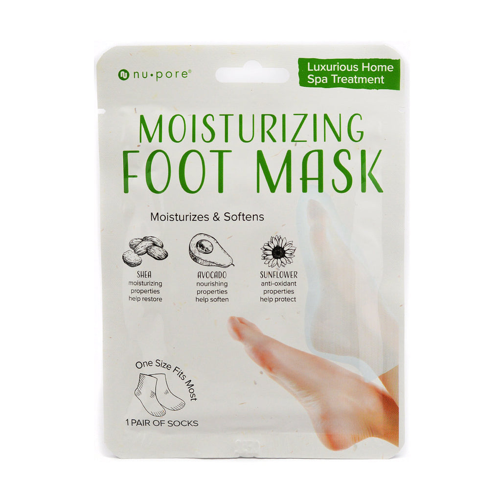 Nu-Pore Moisturizing Foot Mask (1 Pair of Socks)