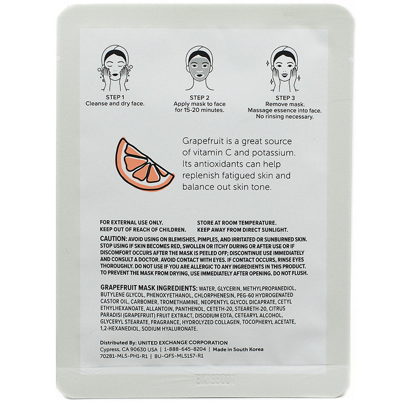 nu pore Grapefruit Face Mask