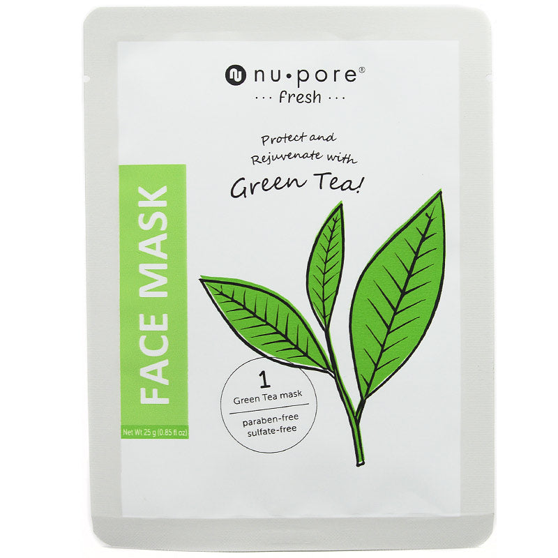 nu pore -fresh- Green Tea Face Mask