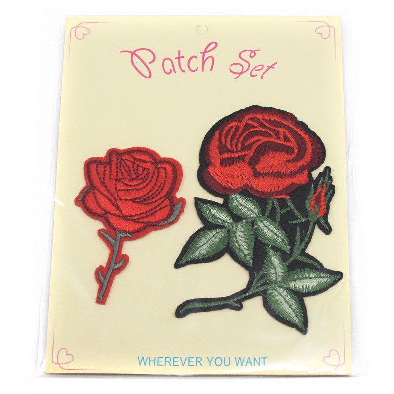 Roses Patch Set #14 (5 Styles)