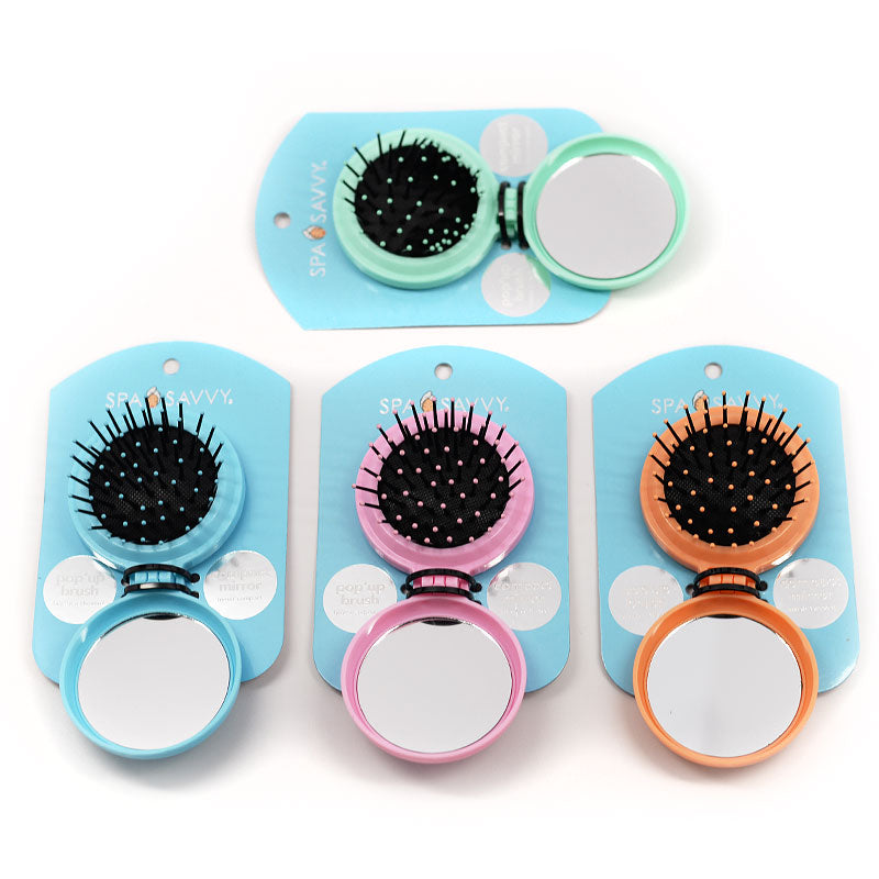 Spa Savvy Pop Up Brush Mirror