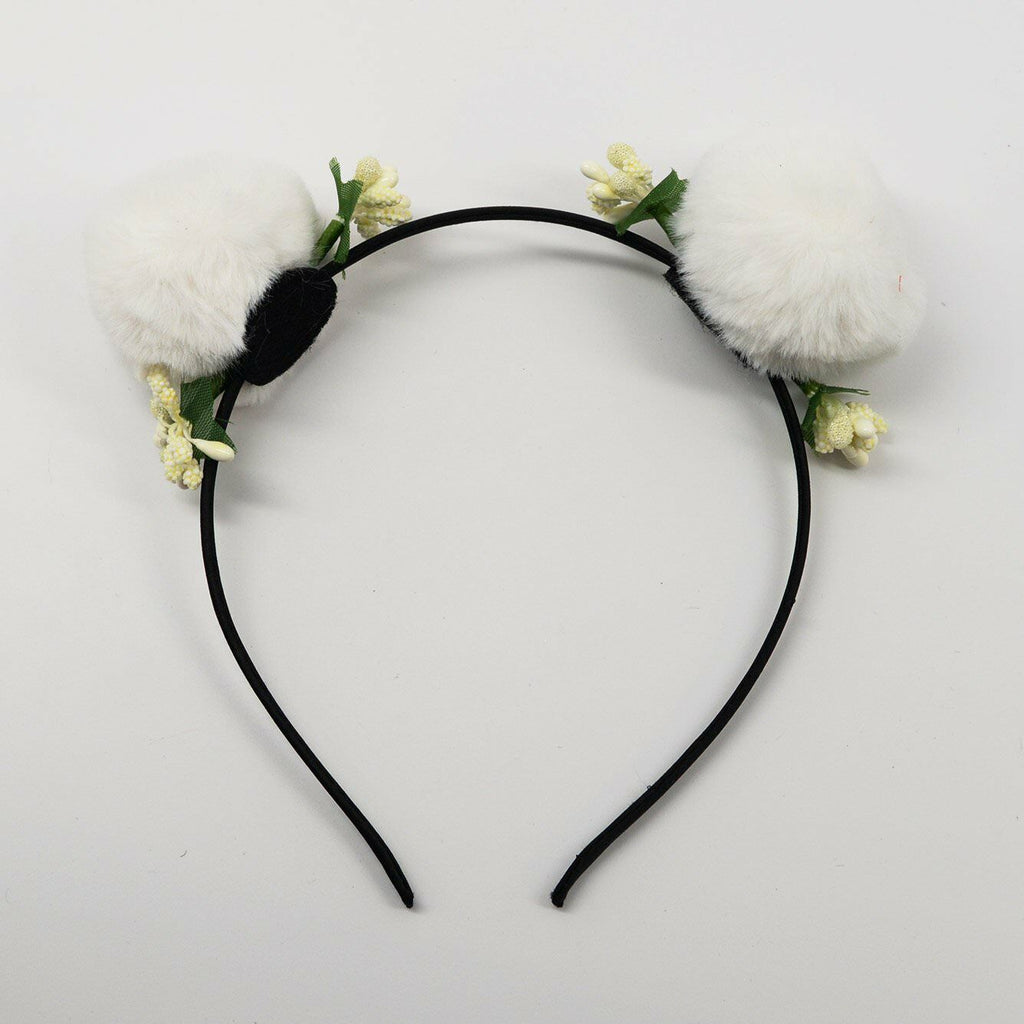 Pom Pom Flower Bud Headbands