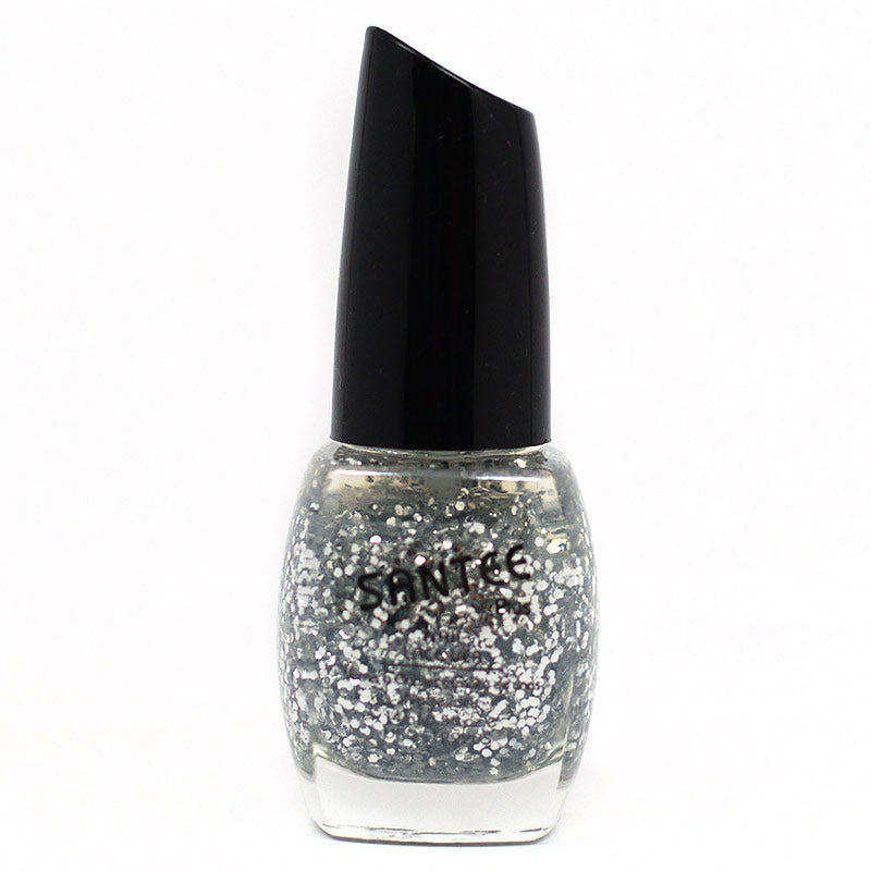 Santee Nail Lacquer - Chunky Silver