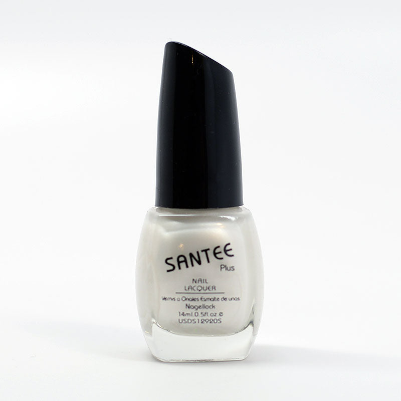 Santee Nail Lacquer - Crystal White