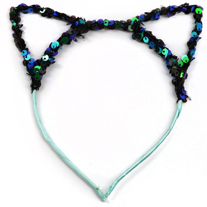 Sequin Cat Ear Headbands