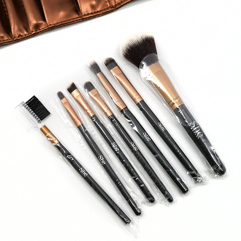 S.he Makeup 7-Brush Set with Case