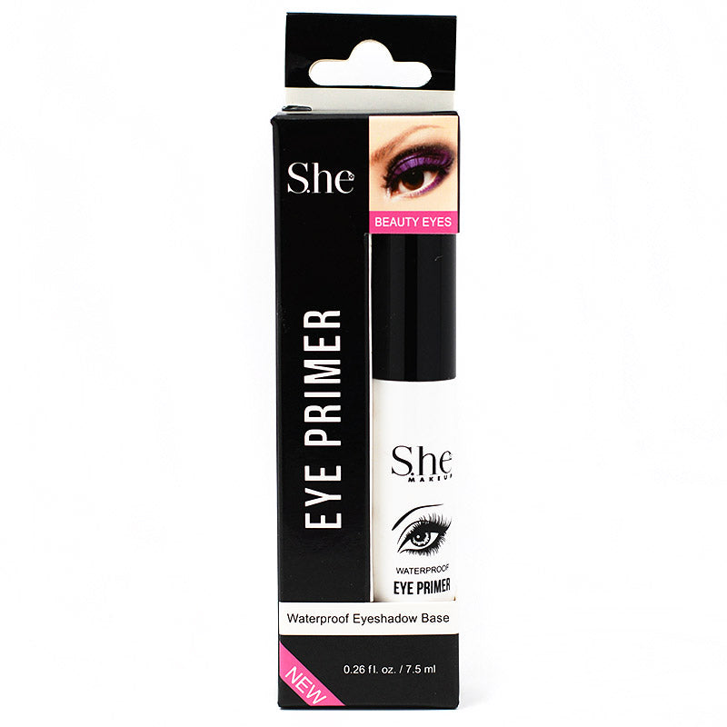 S.he Makeup Waterproof Eye Primer