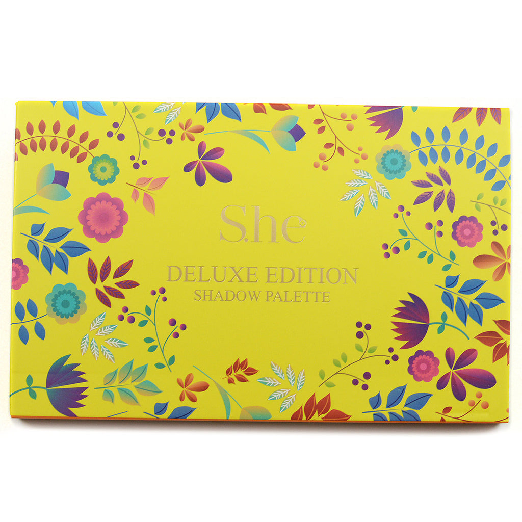 S.he Makeup Deluxe Edition 18-Color Eyeshadow Palette (ES520C)