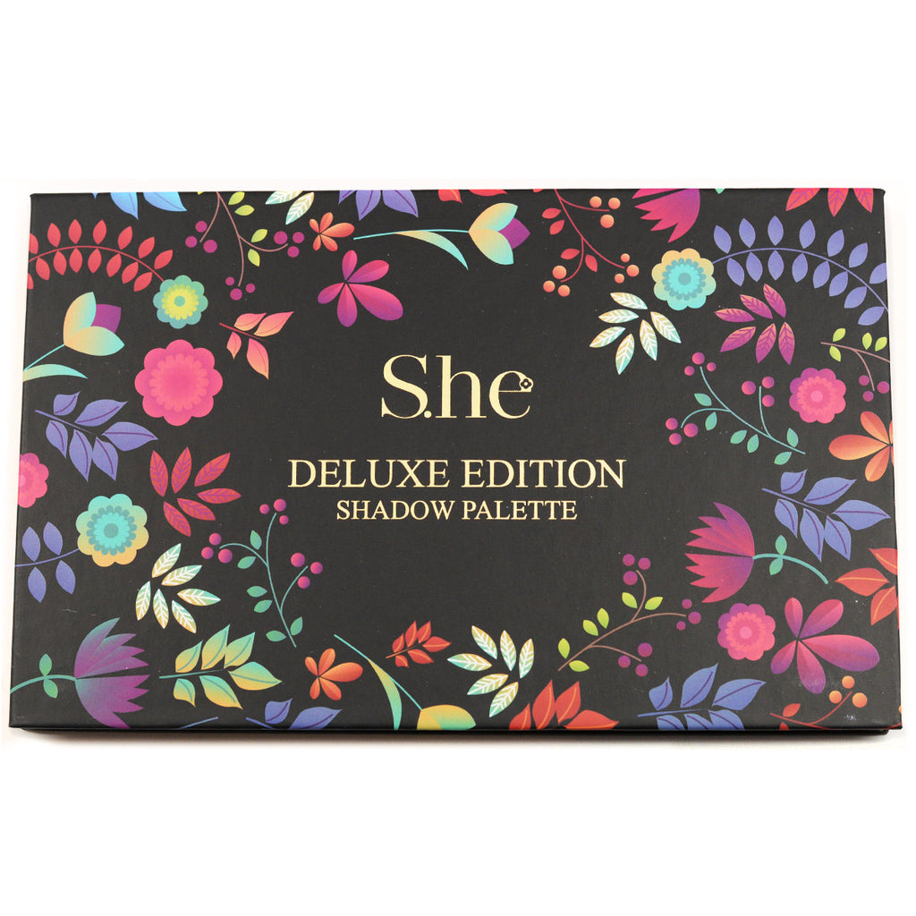 S.he Makeup Deluxe Edition 18-Color Eyeshadow Palette (ES520D)