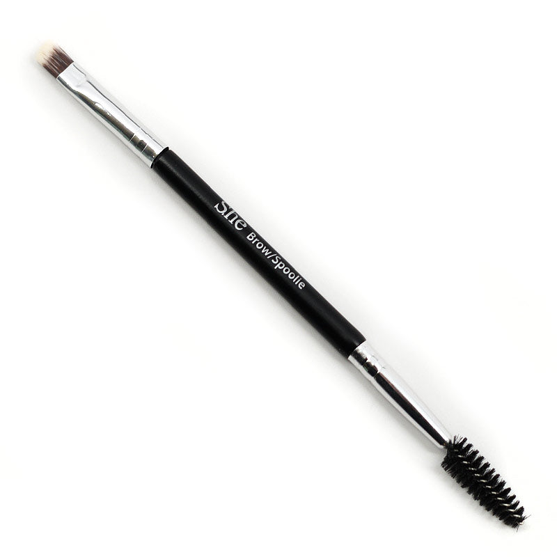 S.he Makeup Dual-Ended Eyebrow Brush
