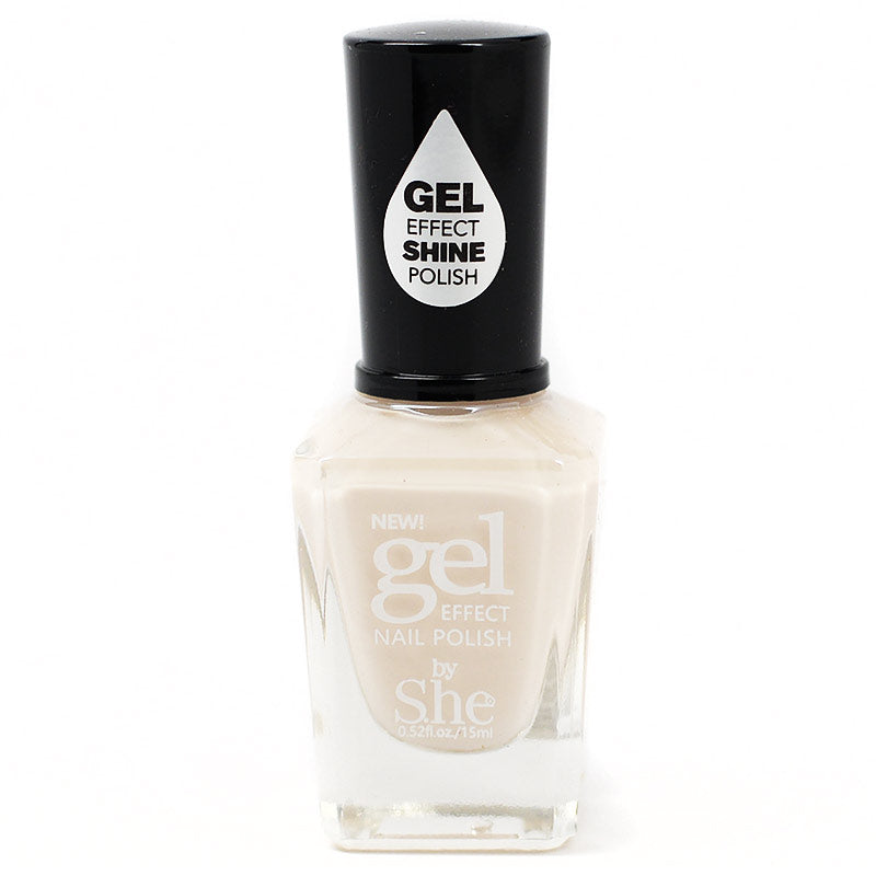 S.he Makeup Gel Effect Nail Polish - 20 Ivory