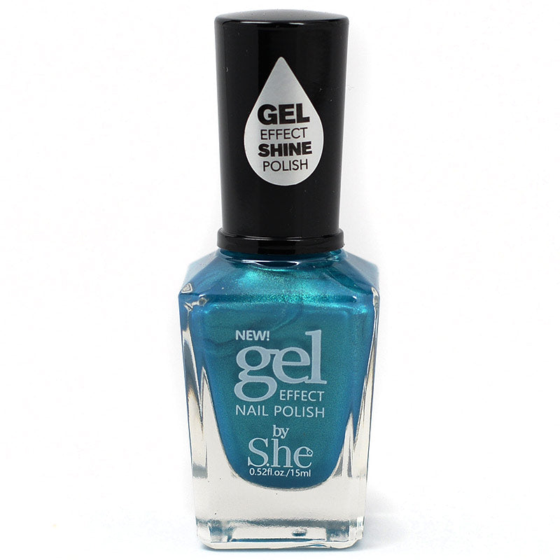 S.he Makeup Gel Effect Nail Polish - 32 Scarlet pimpernel