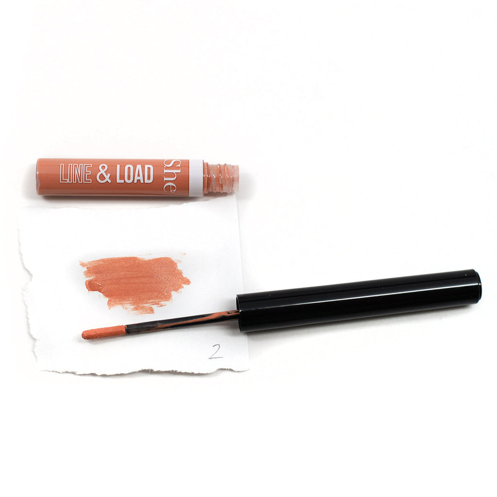 S.he Makeup Line & Load Liquid Lipliner - Natural #02