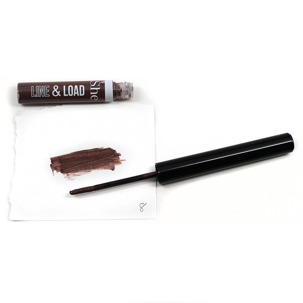 S.he Makeup Line & Load Liquid Lipliner - Natural #08
