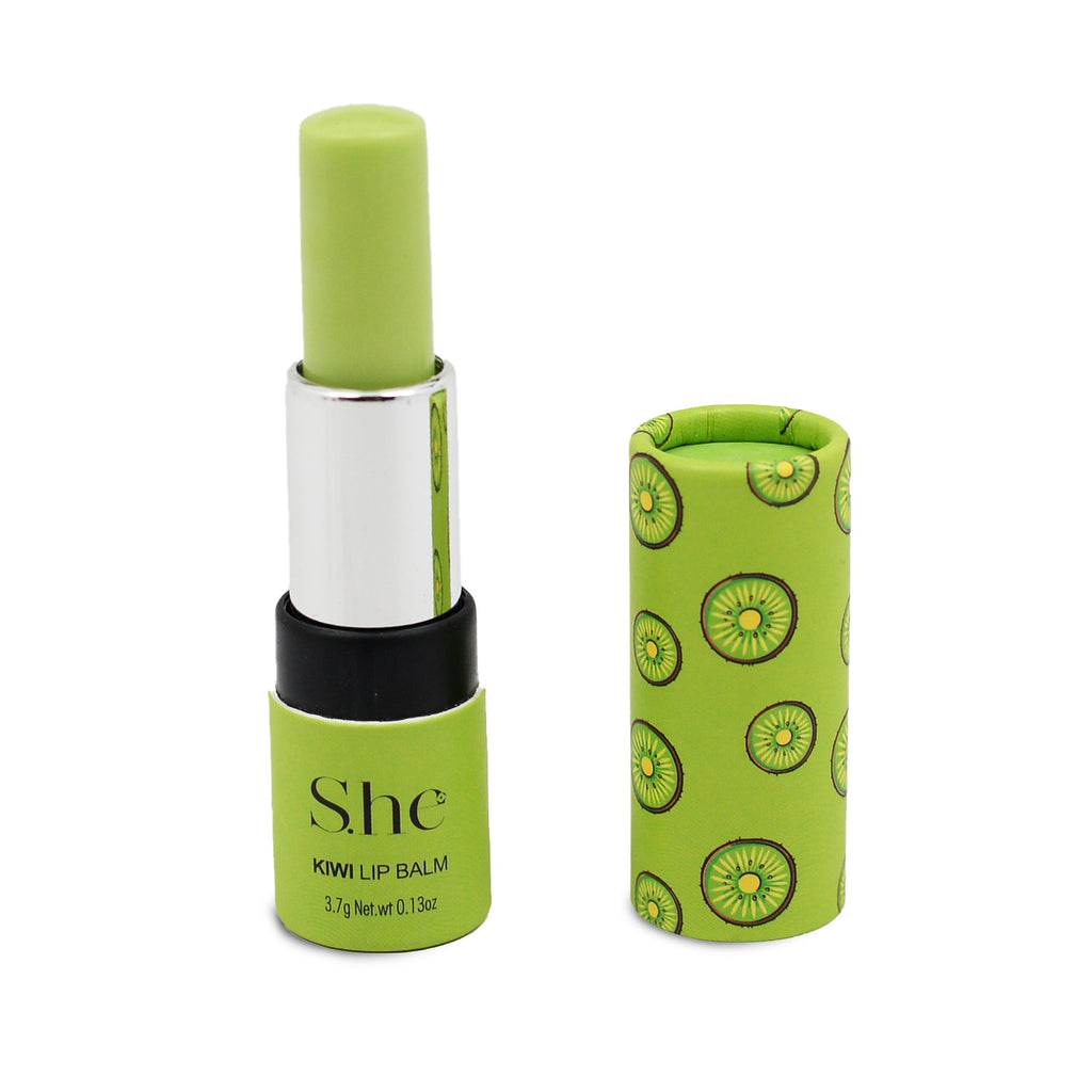 S.he Makeup Lip Balm with Vitamin E - Kiwi
