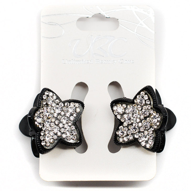 Star-Shaped Hair Clips