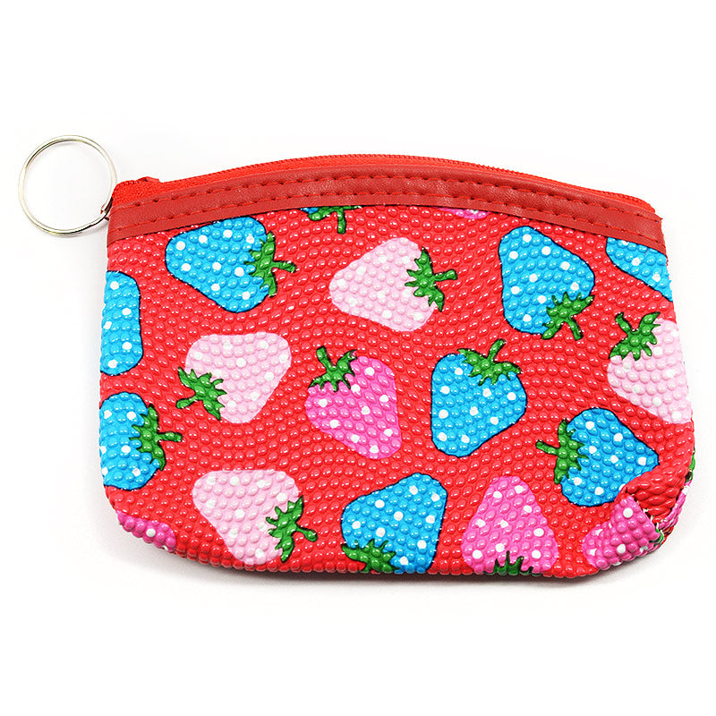 Mini Pouch / Coin Purse Strawberry Design